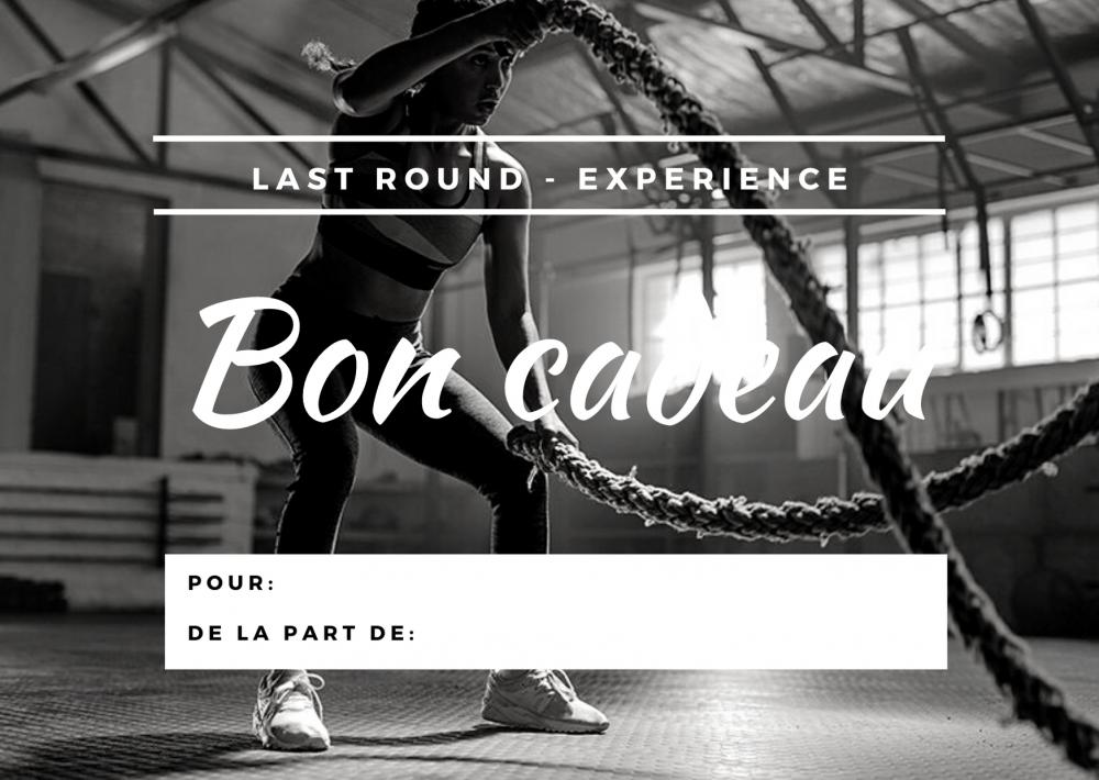 Bon cadeau - renfo boxe pilates running