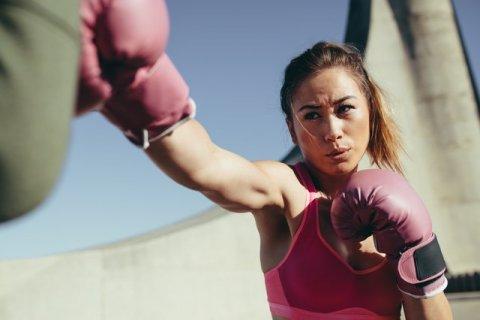 boxe femme féminin