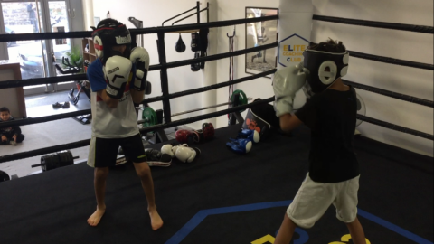 cours boxe enfant lyon / last round boxing club lyon