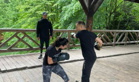 Initiation boxe outdoor lyon coaching