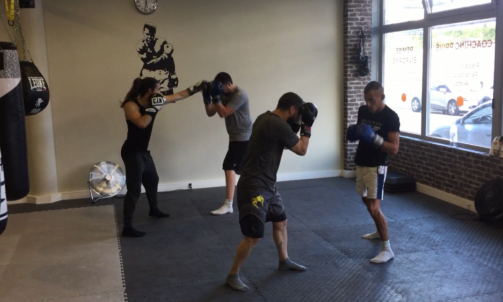 Cours collectif de boxe adulte Lyon